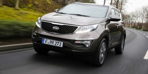 Kia Sportage : updated SUV here in May