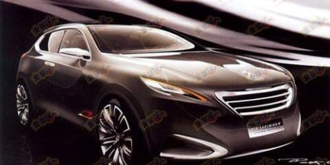 Peugeot crossover concept leaked ahead of Shanghai