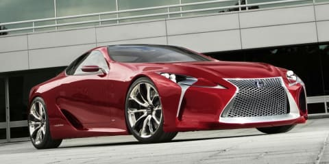 Lexus LF-LC: concept to become production reality by 2015