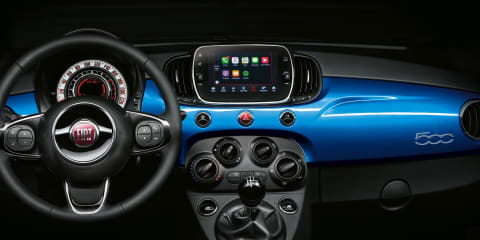 2017 Fiat 500 Mirror adds latest smartphone tech