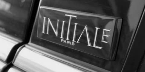 Renault Initiale Paris: premium model line to rival Citroen DS
