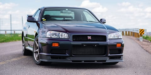 1999 Nissan Skyline GT-R R34 sets new auction record
