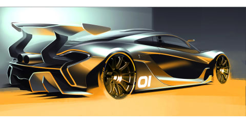 McLaren P1 GTR previewed prior to August debut