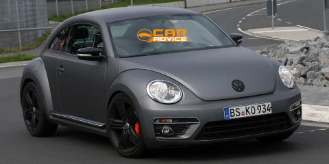 Volkswagen Beetle R: new-age superbug spied