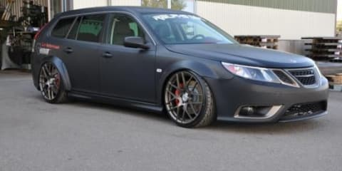 Saab 9-3 SRT10 MegaPower based on Dodge Viper