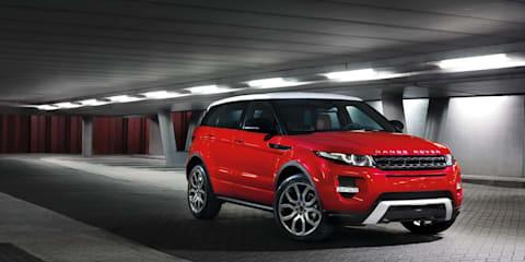 Range Rover Evoque pricing for Australia