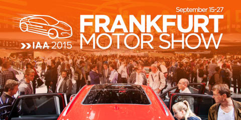 2015 Frankfurt motor show:: What to expect - UPDATE