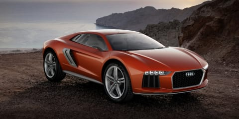 Audi Nanuk quattro concept: diesel-powered performance crossover