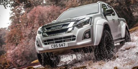 2017 Isuzu D-MAX Arctic Trucks AT35 revealed