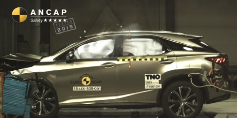 2016 Lexus RX gets ANCAP five-star score