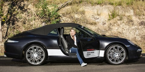 2015 Porsche Woman With Drive Day
