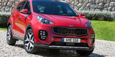"2016 Kia Sportage styling:: ""no point in being vanilla"""