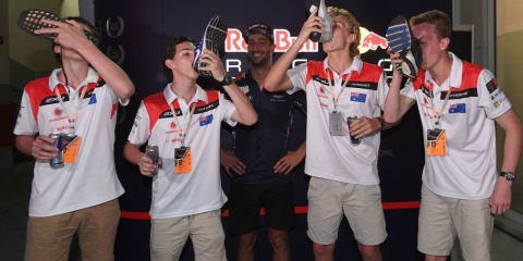 Aussie students win miniature F1 contest in Malaysia