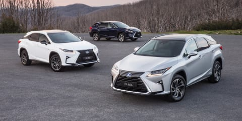 2016 Lexus RX pricing and specifications