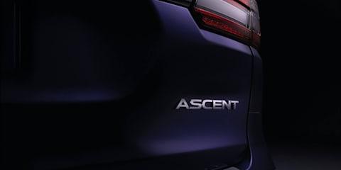 Subaru Ascent teased ahead of November 28 debut
