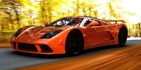 Genty Akylone supercar unveiled