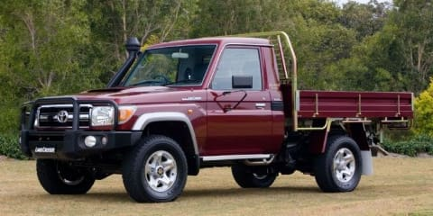 2007 Toyota LandCruiser 70 Series