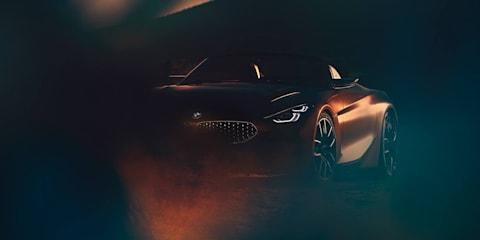 BMW roadster teased again ahead of August 17 reveal