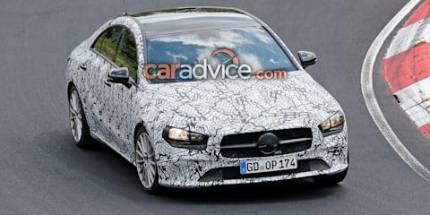 2019 Mercedes-Benz CLA spied