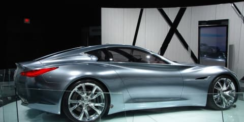 Infiniti Essence at LA Auto Show