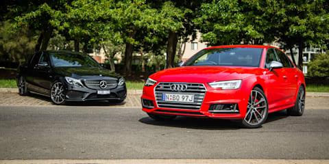 Audi S4 v Mercedes-AMG C43 sedan comparison