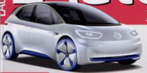 Volkswagen I.D. electric revealed early in Euro press