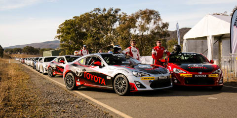 2016 Toyota Festival of 86: among the fans in Canberra