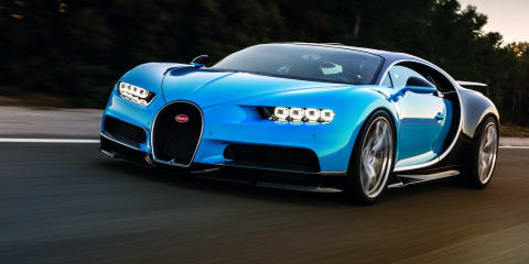 Bugatti Chiron recalled for airbag fix
