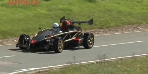 Video: Ariel Atom 500 V8 review