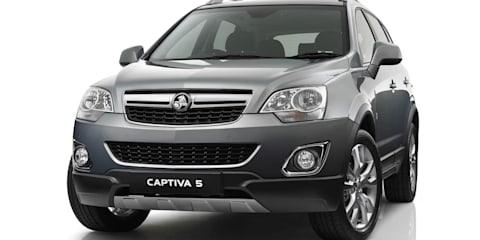 2013 Holden Captiva: new six-speed auto heads SUV updates
