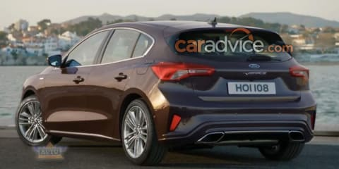 2019 Ford Focus hatch, wagon leaked