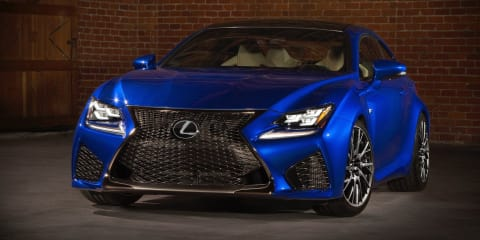 Lexus RC F to launch from $145,000 driveaway