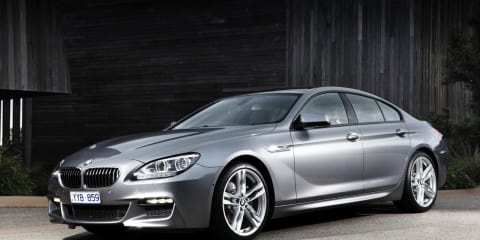 BMW 6-Series Gran Coupe starts from $184,800