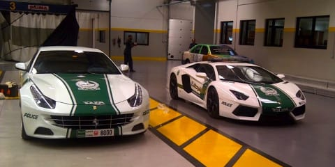 Ferrari FF joins Lamborghini on Dubai Police supercar fleet