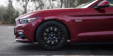 Ford Mustang GT Fastback v Ford Mustang GT Performance Parts comparison