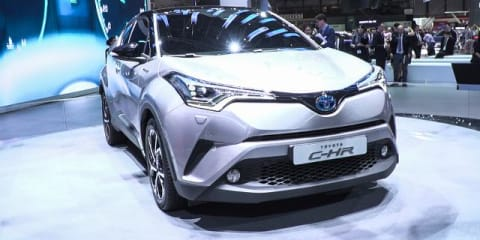 2017 Toyota C-HR Hybrid SUV Concept : 2016 Geneva Motor Show
