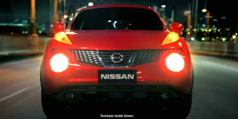 Nissan Juke appears in Australian TV commercial