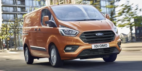 2018 Ford Transit Custom facelift revealed