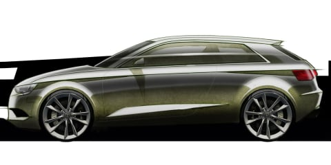 2013 Audi A3 sketches released