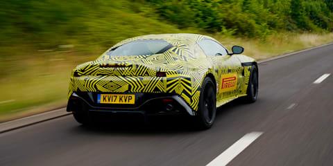 Aston Martin releases 2018 Vantage photos