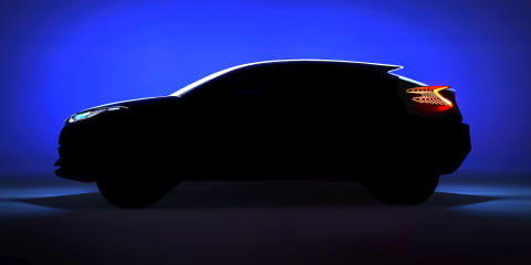 Toyota C-HR concept previews compact crossover