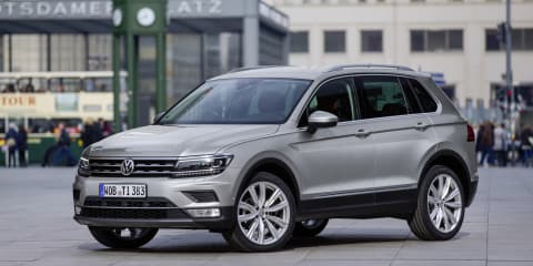 2017 Volkswagen Tiguan pricing and specifications