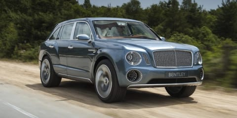 Bentley EXP 9F: SUV concept hits the road