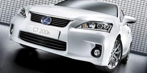 Lexus CT 200h confirmed for Australian market