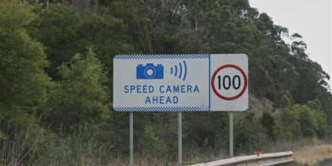 Speed camera tolerances reduced to zero