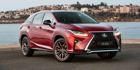2017 Lexus RX200t adds F Sport and Sports Luxury variants, prices up across RX range