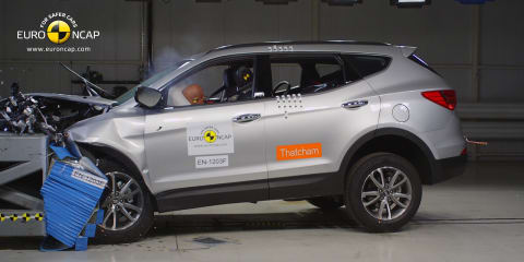 Hyundai Santa Fe, Mitsubishi Outlander head list of new five-star ANCAP safety cars