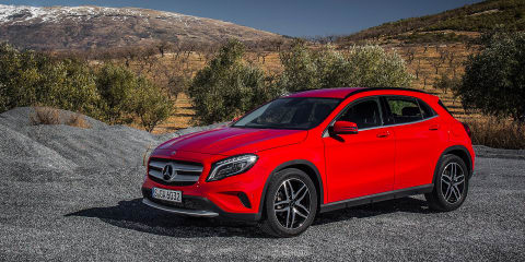 Mercedes-Benz GLA180 marks new entry point to SUV range