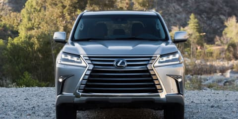 2016 Lexus LX570 pricing and specifications