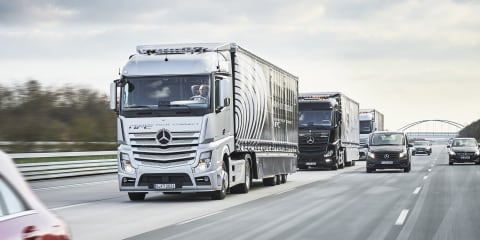 Autonomous and human-driven trucks head into European platooning challenge